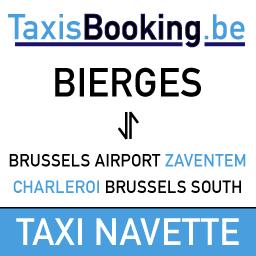 taxi navette à BIERGES vers l'aéroport de Brussels Zaventem et Brussels-south Charleroi airport